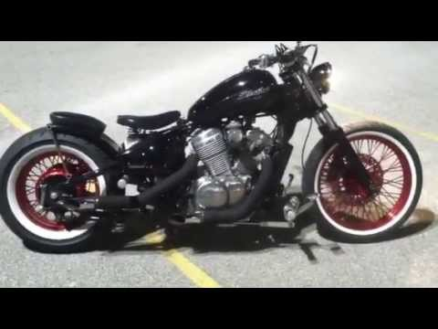 Honda Shadow Bobber Vlx 600 Exhaust Review Youtube
