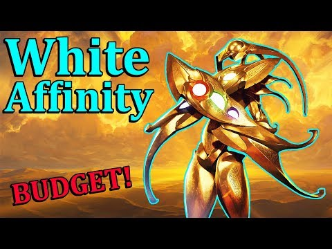 Budget Modern WHITE AFFINITY – New From AER!