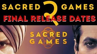 Sacred Games 2 | Release Date | What to Expect | New Cast | Season 2 | [Hindi]
