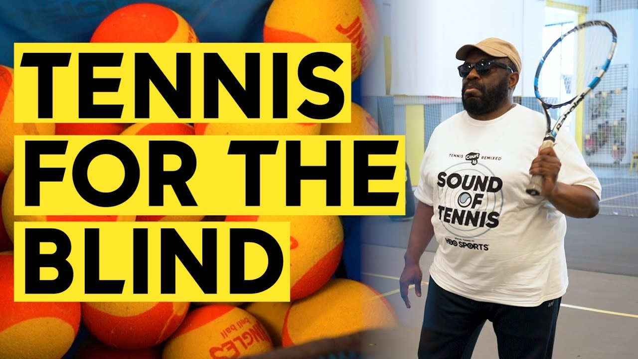 Court 16 Tennis teaches the blind and visually impaired how to play tennis