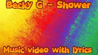 Becky G: shower Funny lyric video
