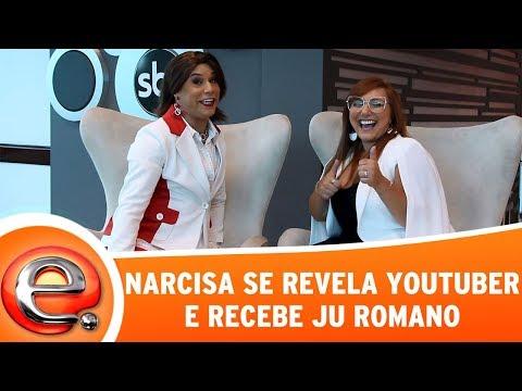 Narcisa Se Revela Youtuber E Recebe Ju Romano