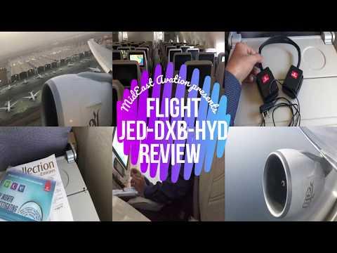 |FLIGHT REPORT| Emirates 777: Jed-Dubai-Hyd | Missed Flight Extreme Layover at Dubai EK802|EK524
