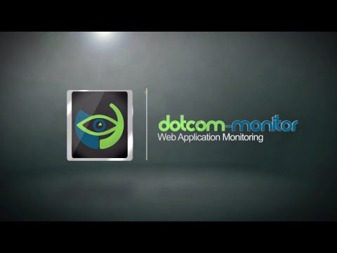 Dotcom-Monitor Web Application Monitoring + Video Capture