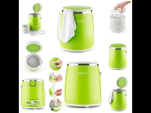 oneconcept ecowash pico camping mini waschmaschine toploader mit schleuder funktion youtube. Black Bedroom Furniture Sets. Home Design Ideas