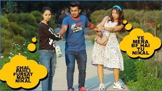 Making My Ex-Girlfriend Jealous Prank On Cute Girls  FT-AKY FILMS With Shelly Sharma
