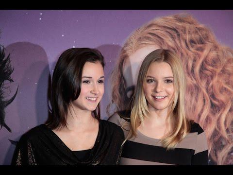 ¿Quiénes interpretan a las hermanas vampiro?