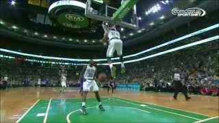 Phil Pressey dunks vs Philadelphia 76ers 4/4/2014