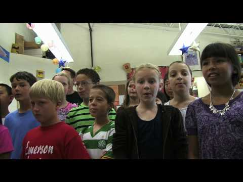 Emerson School connects with Grace Center kids
