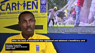 Undp Haiti - Rebuilding Houses