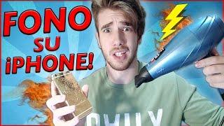 FONO SU UN IPHONE!? - TRUCCO PAZZESCO!