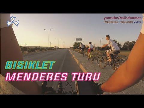 Bisiklet Turu Menderes - Yeşilyurt Bisiklet Gezisi  25km - Yol Yarış Bisiklet VLOG. Bisiklet Gezisi