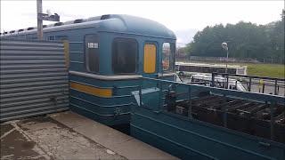 """81-717/714 """"Грузовой"""" на станции метро """"Выхино"""""""