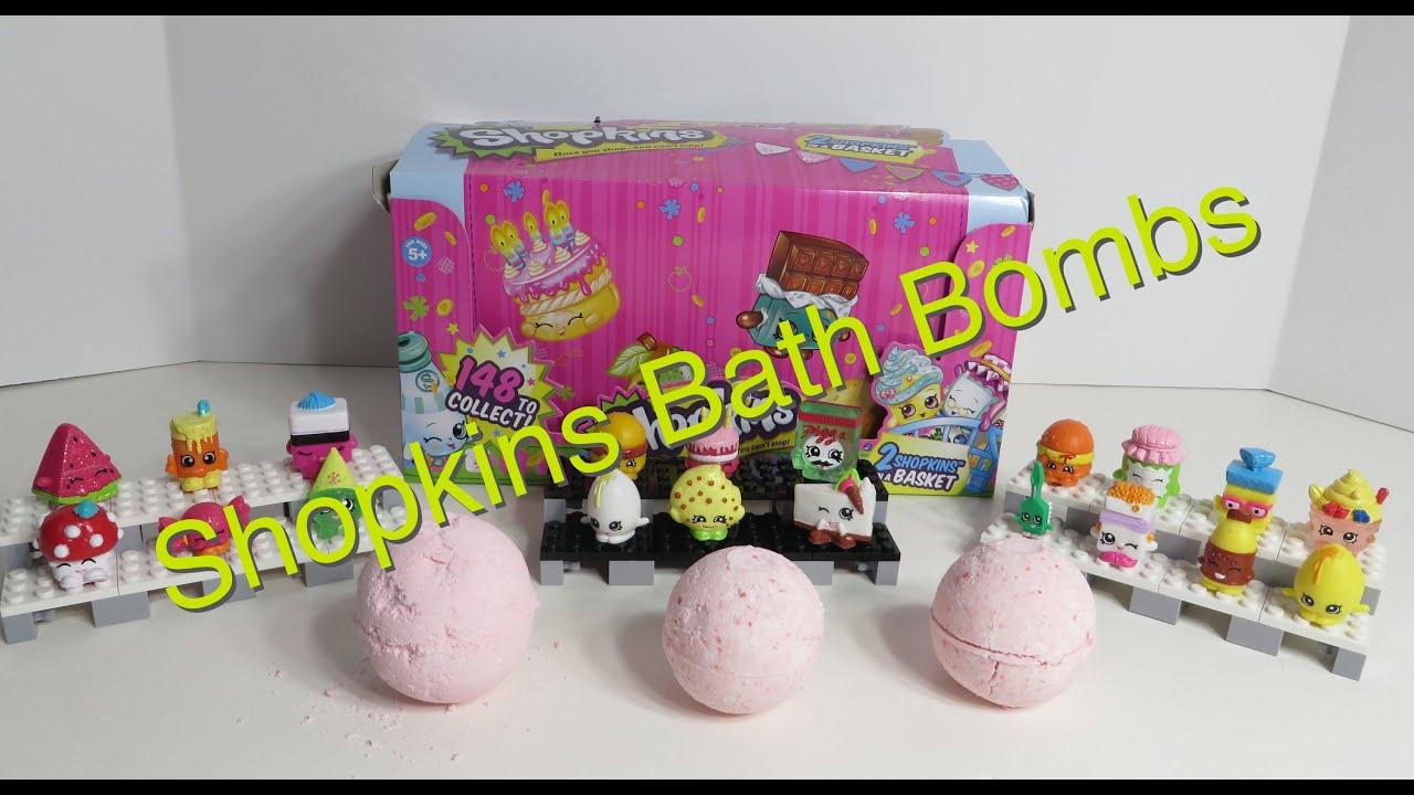 Shopkins Bath Bomb Fizzies Fizzes Hidden Blind Surprise Inside Fun