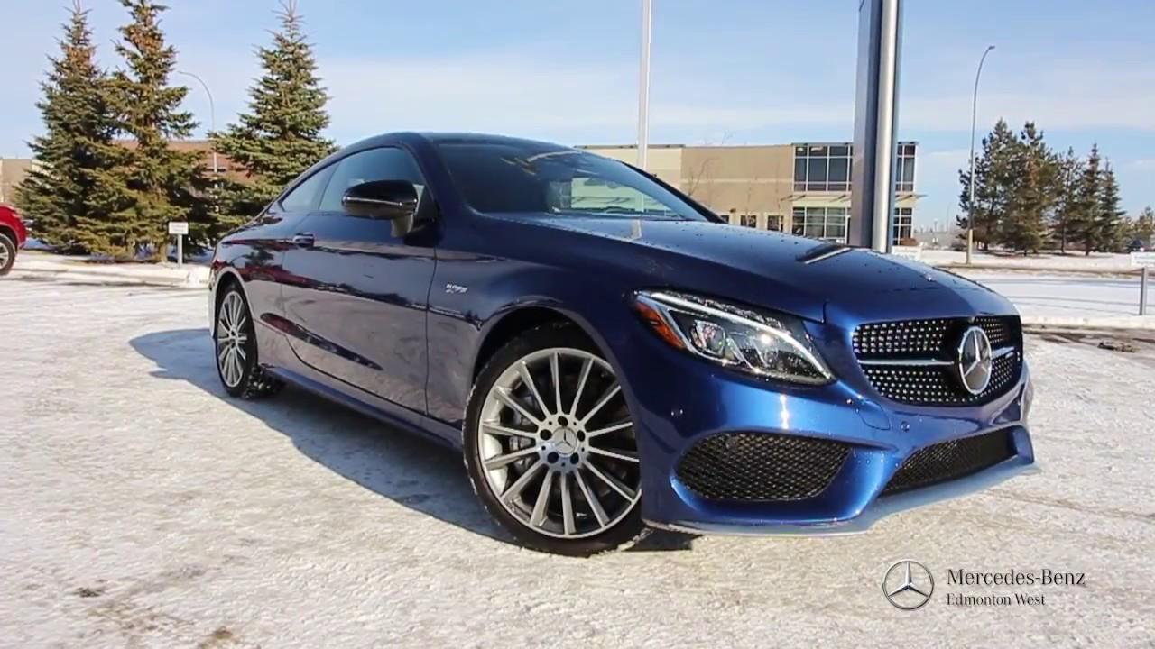 2017 Mercedes Benz C43 Amg Coupe Edmonton Ab Youtube