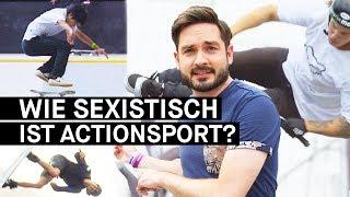 Sexismus im Actionsport: Und wo sind die Frauen? || PULS Reportage