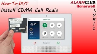 Honeywell Lyric-CDMA - How to Install into Lyric Security System?