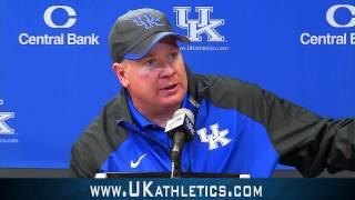 Kentucky Wildcats TV: Stoops Post MSU