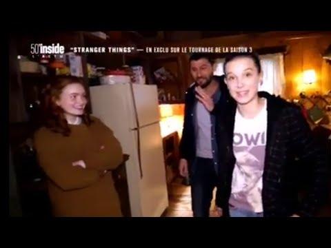 Stranger Things  | Behind The Scene (Millie & Sadie)