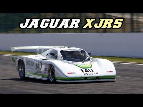 Jaguar XJR-5 - V12 Group-C car at Spa and Zandvoort
