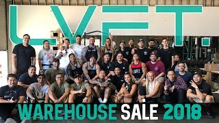 LVFT. Warehouse Sale 2018 - Behind The Scenes