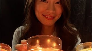 Tappity Tap Tap 🍂🍃FALLing In Love with Candles🍃 🍂 ASMR Blowing