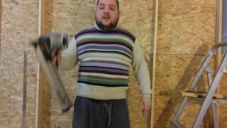 Как забить гвоздь с одного удара.  Нейлер Hitachi NR90AE / How to hammer a nail with a single blow(, 2017-01-08T12:35:24.000Z)