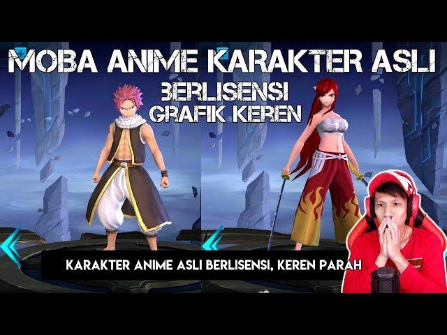 MOBA Anime ASLI, Karakter ASLI Dan BERLISENSI, Grafik DEWA Dari HP Xiaomi
