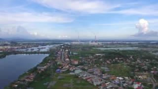 Thủy Nguyên - Hải Phòng qua góc nhìn flycam.