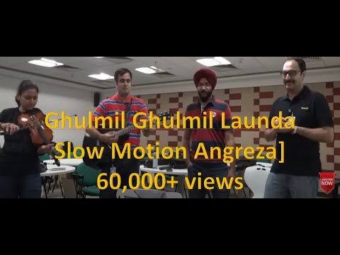 Ghul Mil Ghul Mil Launda Cover [Slow Motion Angreza from Bhaag Milkha Bhaag]