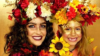 Fall Queen and Princess Makeup Tutorial
