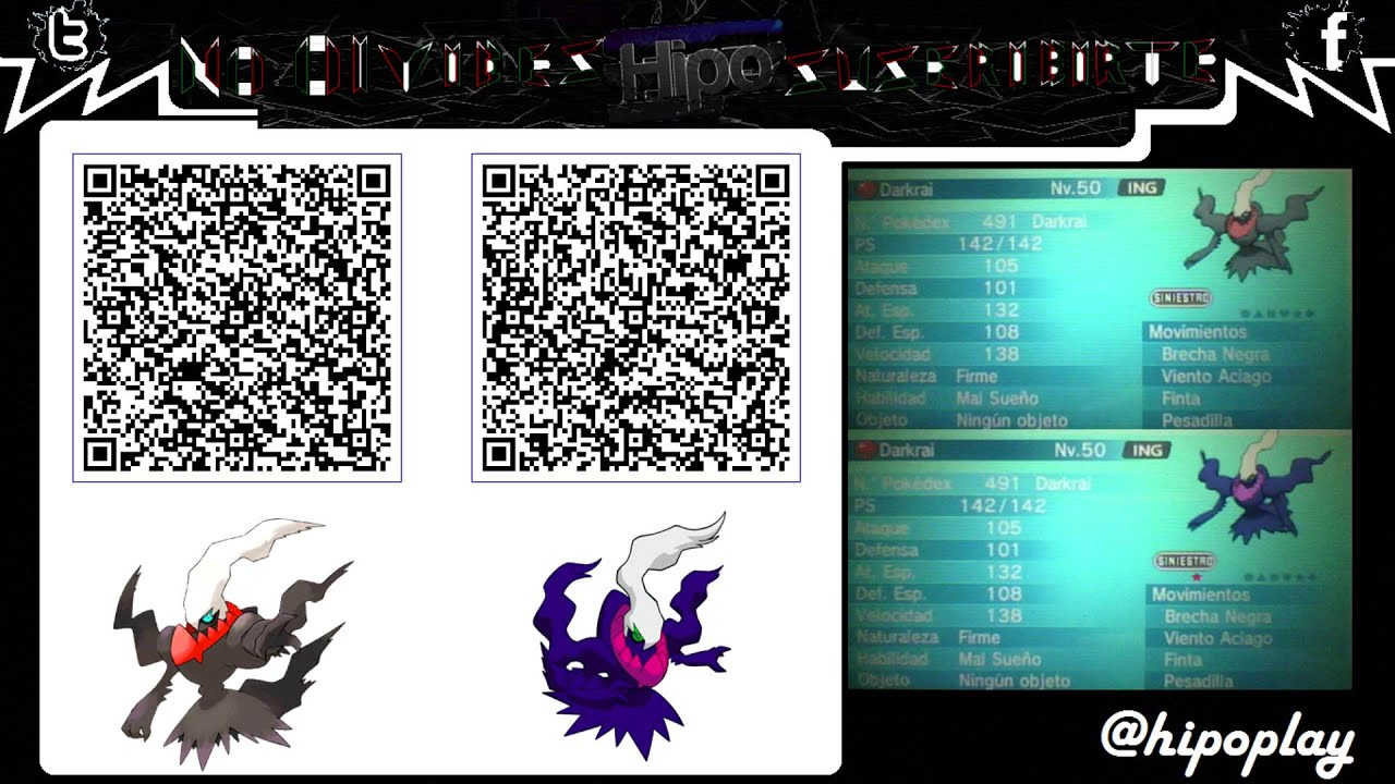 pokemon y how to use qr codes