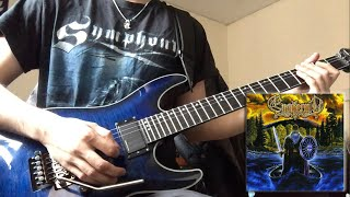 Ensiferum - Goblins' Dance (Guitar Solo Cover)