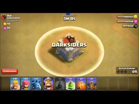 Clan Castle Destroyed Before Troops Come Out | Clash Of Clans | FREE GEMS LINK