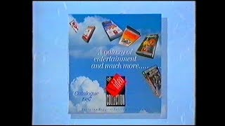 The Video Collection - A Galaxy of Entertainment VHS UK - 1987 Promo