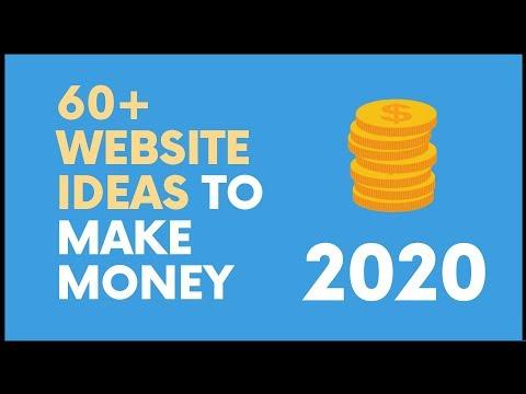 60+ Website Ideas to Start a Lucrative Online Business and Make