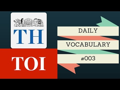 #003 - Daily Vocabulary - Solitude, Mercenary, Abate, Fractious and Utopia