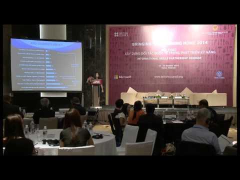 Plenary Presentation Working Internationally to Develop Skill