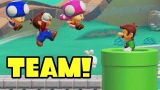 Super Mario Maker 2 Multiplayer Co-Op Online