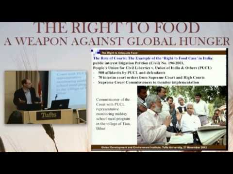 The Right to Food: A Weapon Against Global Hunger