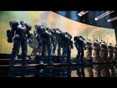 United States Robots Army for Future HD Discovery Channel Documentary