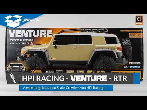 HPI Racing Venture Toyota FJ Cruiser - Unboxing & Review