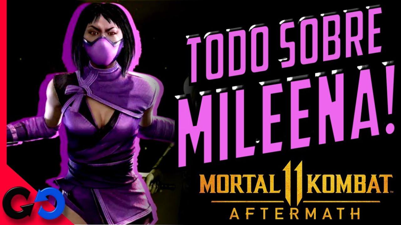 Mortal Kombat 11 Ultimate TODO sobre Mileena!!  //  Que sabemos de su GAMEPLAY,  HISTORIA Y ORIGEN?