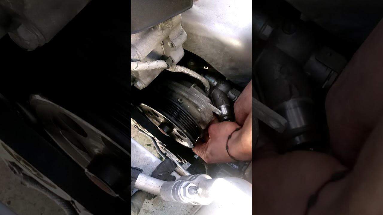 2013 Chevy Malibu Water Pump Replacement Chevy Malibu Como Cambiar Bomba De Agua Youtube