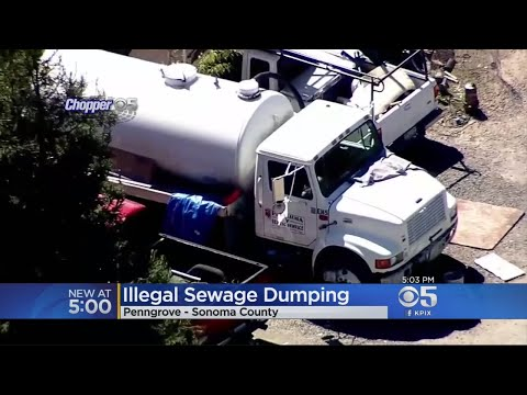 Man Accused Of Illegally Dumping Raw Sewage In North Bay