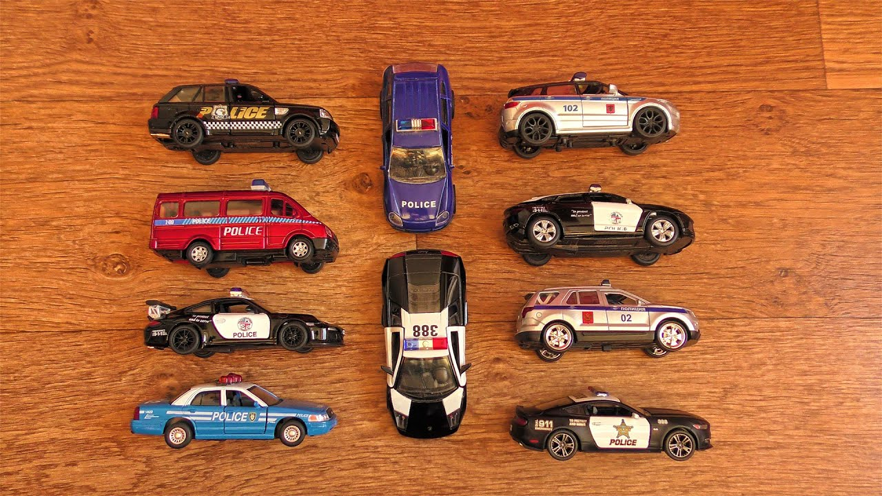 Police SUVs, Sports Cars and more...