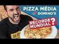 Desafio de velocidade #6 - Pizza Média Domino's (Recorde Mundial??)