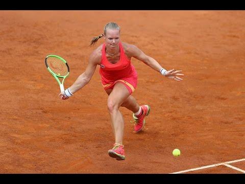 2017 Internazionali BNL d'Italia Quarterfinals |  Kiki Bertens vs Daria Gavrilova | WTA Highlights