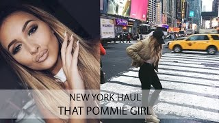 Chatty New York Haul | That Pommie Girl