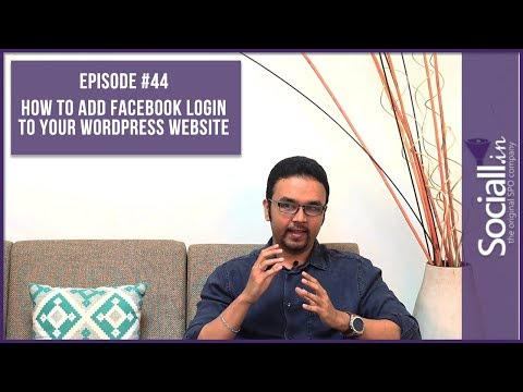 How to add Facebook Login to Your WordPress Website